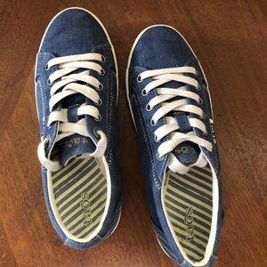 Taos denim sneakers, ladies sz 6.5